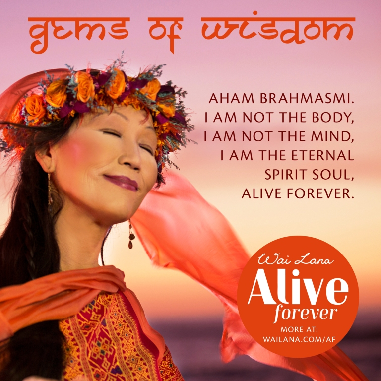 Wailana gives insight that we are eternal spirit souls