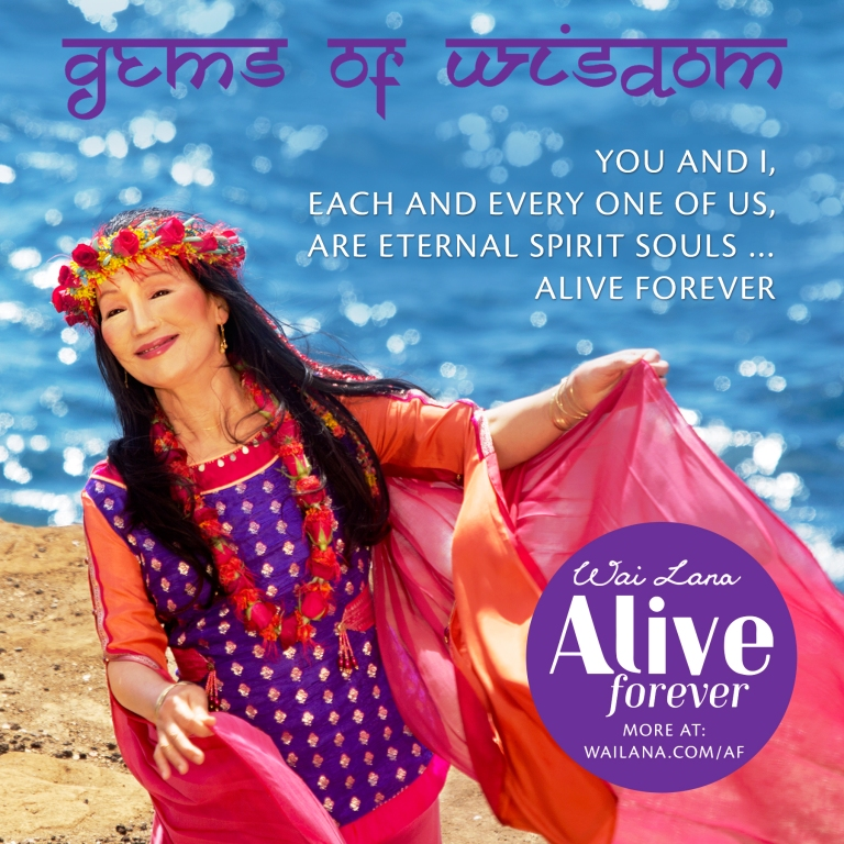 Wailana - we are eternal spirit souls - alive forever video musical video